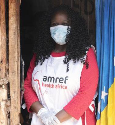 Margaret Kilonzo amref worker
