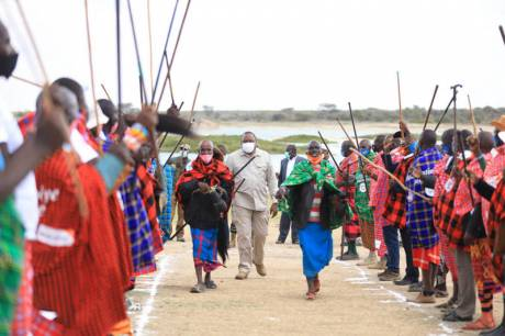 afrian people celebrating end to FGM