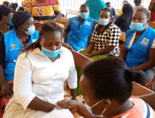 Psychological First Aid Training for Frontline Health Workers in Kenya